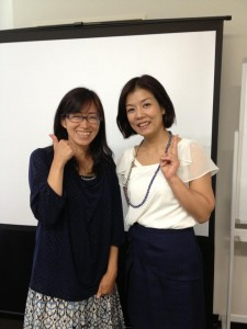 アクティブノート4期目スタート記念 シークレットセミナー長瀬葉弓さん